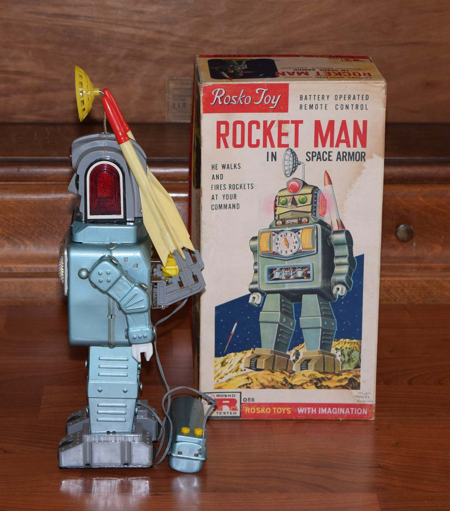 alps rocket man robot for sale