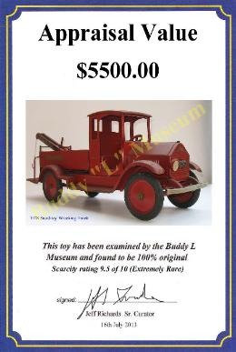 Free Antique Toy Appraisals and information, toy value, buddy l car value, Buddy L Museum Sturditoy Trucks Price Guide, Vintage Space Toys Wanted Online Buddy L Toys Price Guide, buddy l fire engine, Ebay Facebook Buddy L Toys, ebay steelcraft toy trucks, Sturdtoy Trucks Price Guide,  Facebook Twitter Ebay Free Appraisals  Buddy L Toy Museum world's largest buyer of Buddy L, Keystone & Sturditoy Trucks Paying 55%-85% more than antique dealers, eBay & toy shows